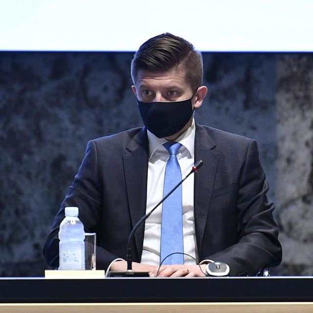 Zdravko Marić na sjednici Vlade Republike Hrvatske, prezentacija Nacionalnog plana oporavka