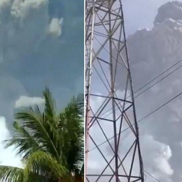 Vulkan La Soufriere