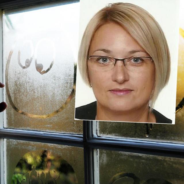 Ilustrativna fotografija; u pravokutniku: Branka Sladović Franz