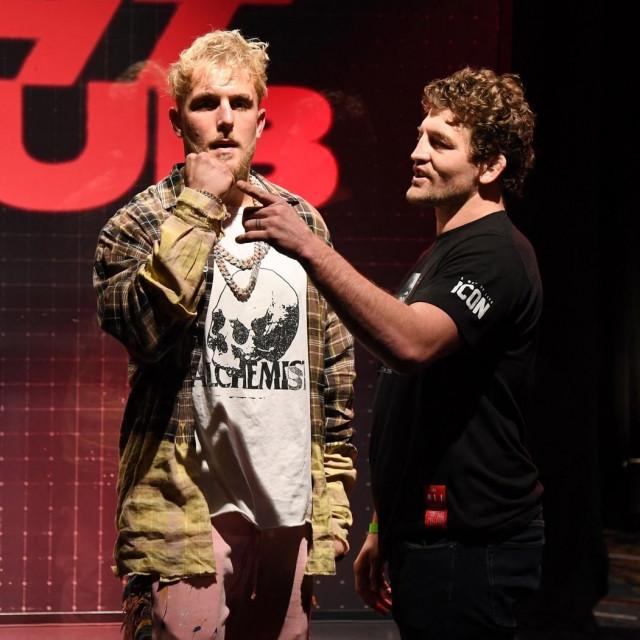 Jake Paul i Ben Askren
