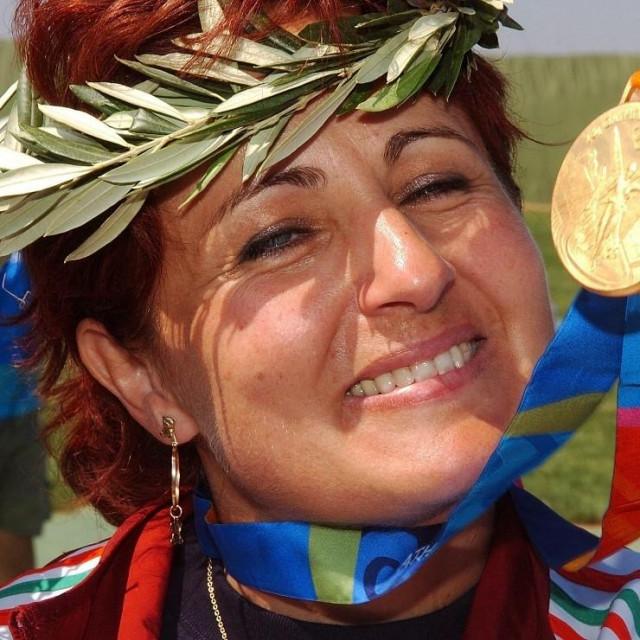 Diana Igaly s olimpijskim zlatom