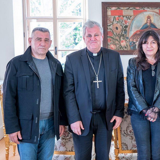Ante Gotovina, Vlado Košić, Dunja Gotovina