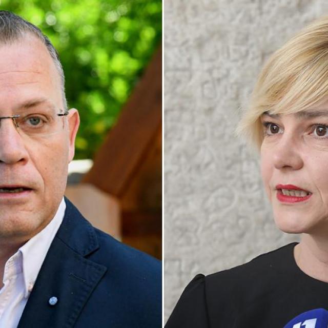 Zlatko Hasanbegović; Sandra Benčić