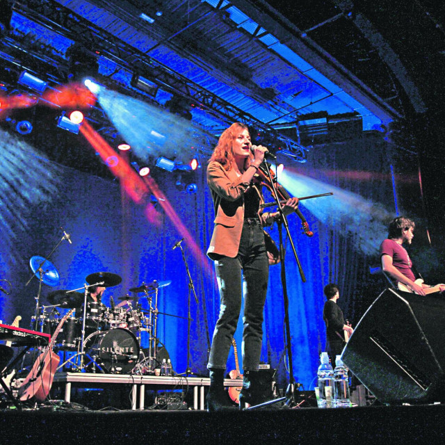 Koncert dubravačke rock pop grupe Silente u zagrebačkoj Tvornici kulture.