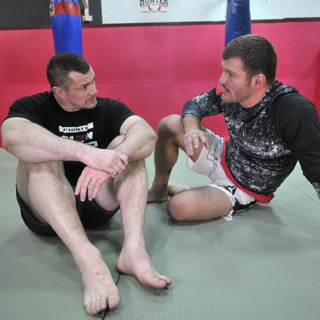 Mirko Filipović i Stipe Miočić