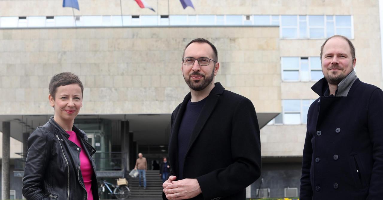 Tomašević predstavio kandidate za zamjenike gradonačelnika: 'Dosta je nekompetentnog kadroviranja!'
