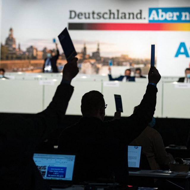 Prema posljednjim anketama, AfD može računati na podršku između 10 i 12 posto, dok CDU Angele Merkel kotira oko 27 posto