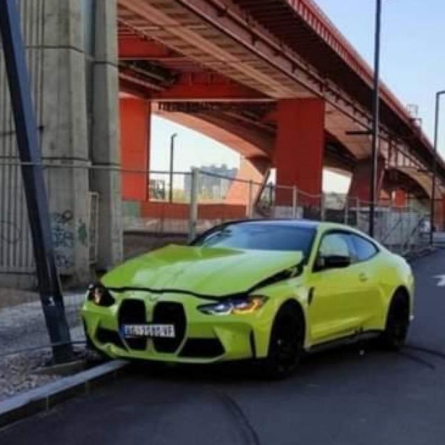 Razbijeni BMW M4