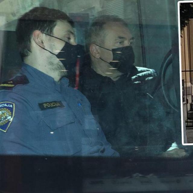 Dragan Kovačević stiže na ispitivanje