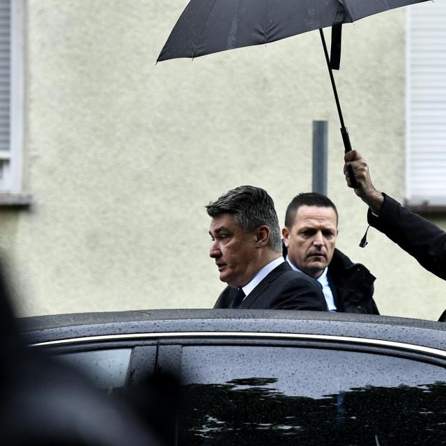 Milanović napušta obilježavanje obljetnice operacije Bljesak