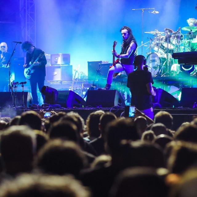 Nastup grupe The Cure na festivalu INmusic 2019. godine
