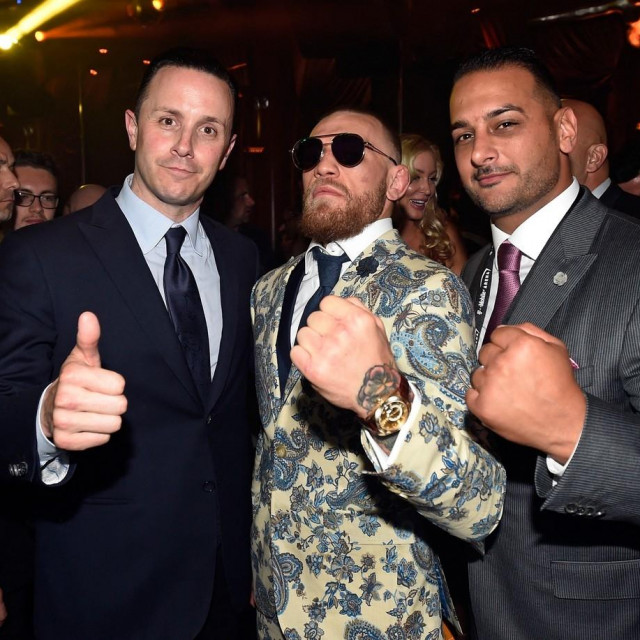 Sean Christie, Conor McGregor i Audie Attar