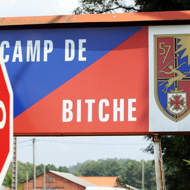 Vojni kamp u gradu Bitche
