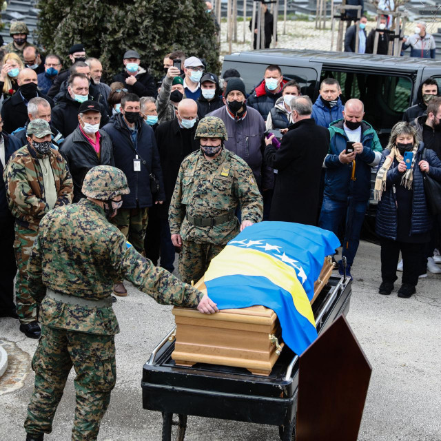 Pogreb generala Jovana Divjaka