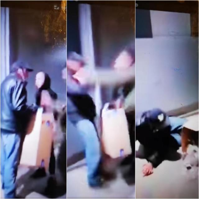 Napad na beskućnika