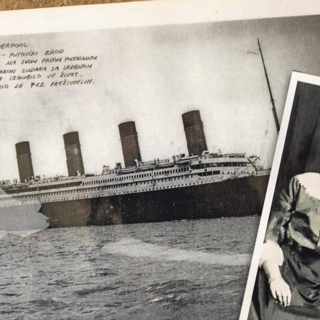 Fotografije iz knjige Slobodana Novkovića 'Titanic - Hrvati u katastrofi stoljeća'