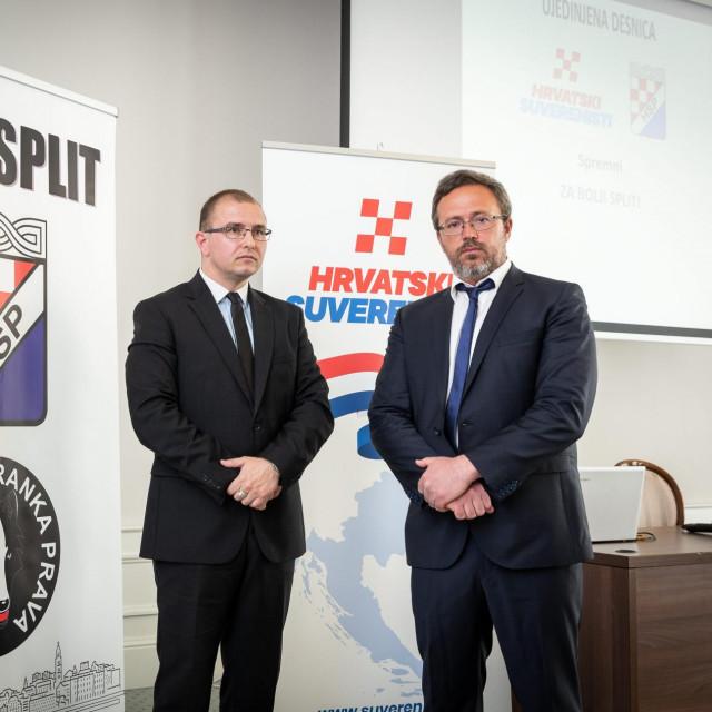 Mario Popović i Lovre Meštrović<br /> <br />