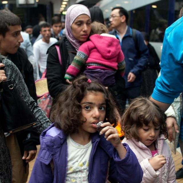 Sirijske izbjeglice dolaze u Dansku 2015. godine