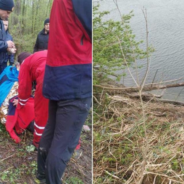Spašavanje ribiča iz Drave