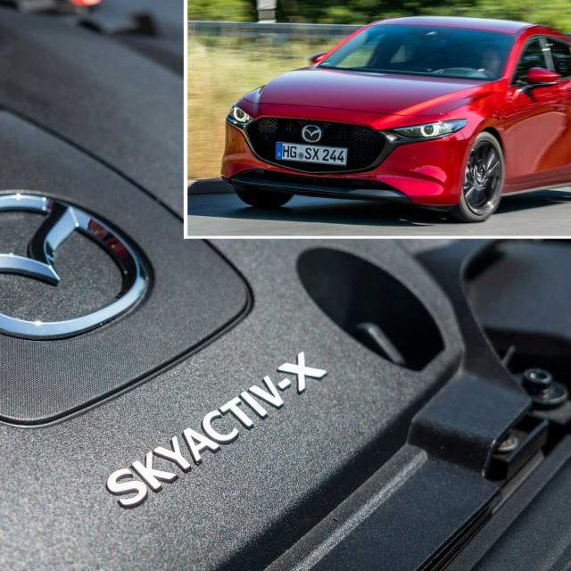 Mazda Skyactiv-X tehnika