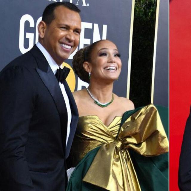 Alex Rodriguez i Jennifer Lopez; Ben Affleck