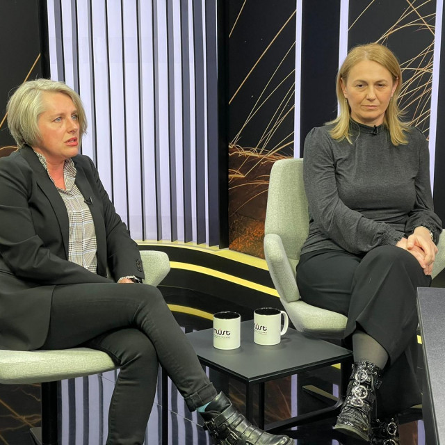 Anita Cvetić Oreščanin i Lidija Karaga
