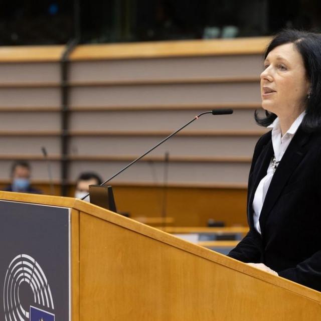 Potpredsjednica Komisije Vera Jourova