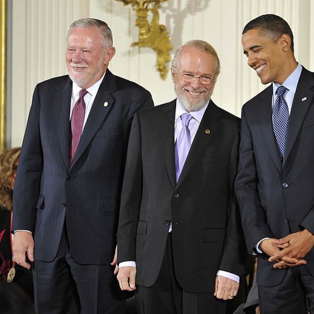 Charles Geschke, John Warnock i Barack Obama