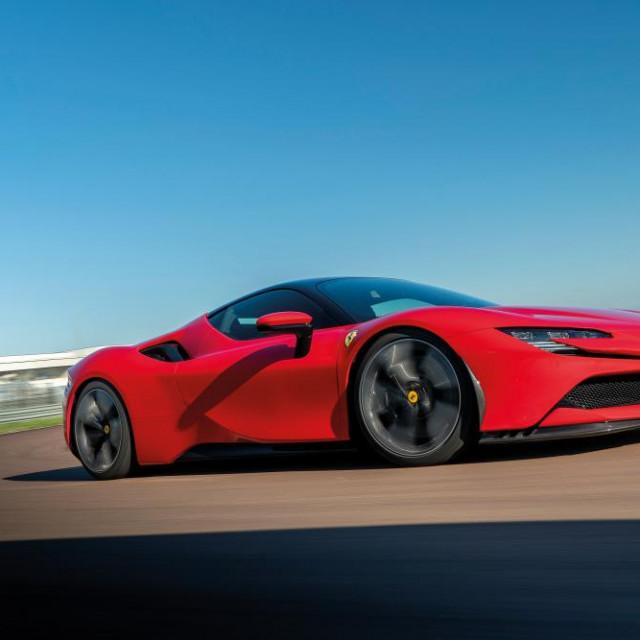 Ferrari SF90 2020., ilustracija