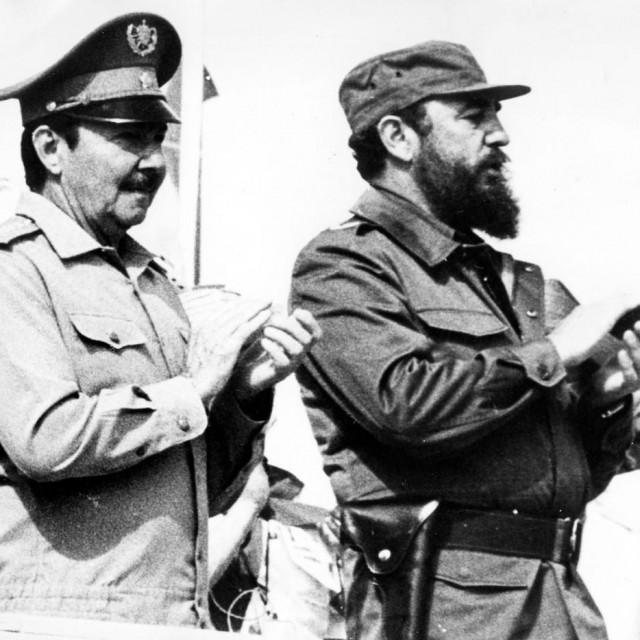 Fidel i Raul Castro