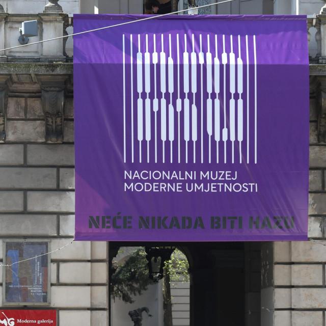 Moderna galerija je nedavno preimenovana u Nacionalni muzej moderne umjetnosti