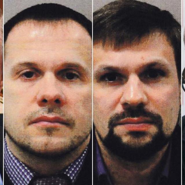 Vladimir Putin, Aleksandar Petrov, Ruslan Boširov, Andrej Babiš