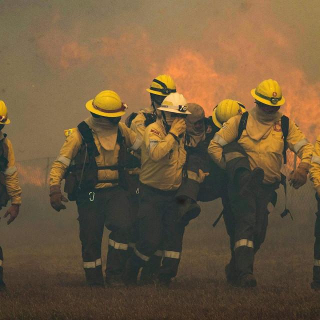 Požar u Cape Townu