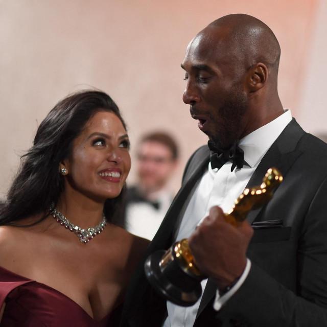 Kobe Bryant i njegova supruga Vanessa
