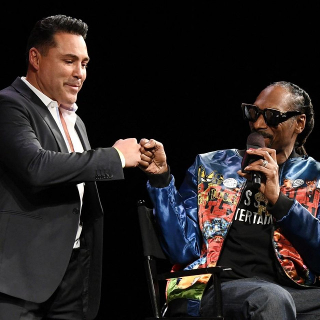 Oscar De La Hoya i Snoop Dogg