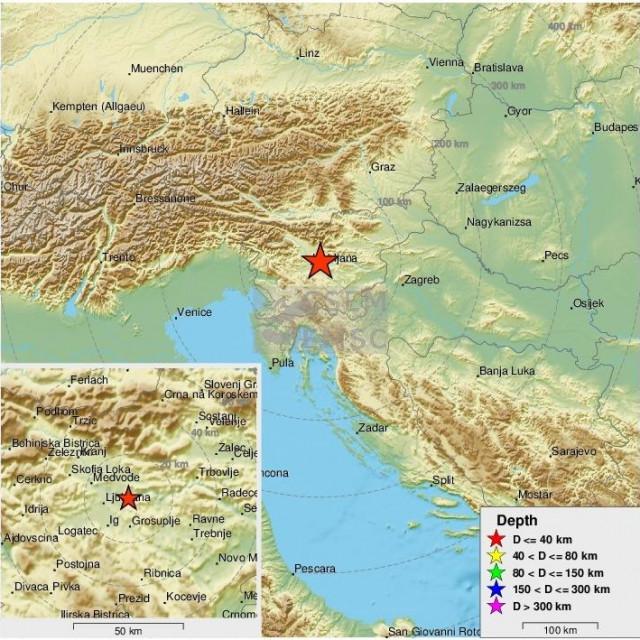 Potres u Sloveniji