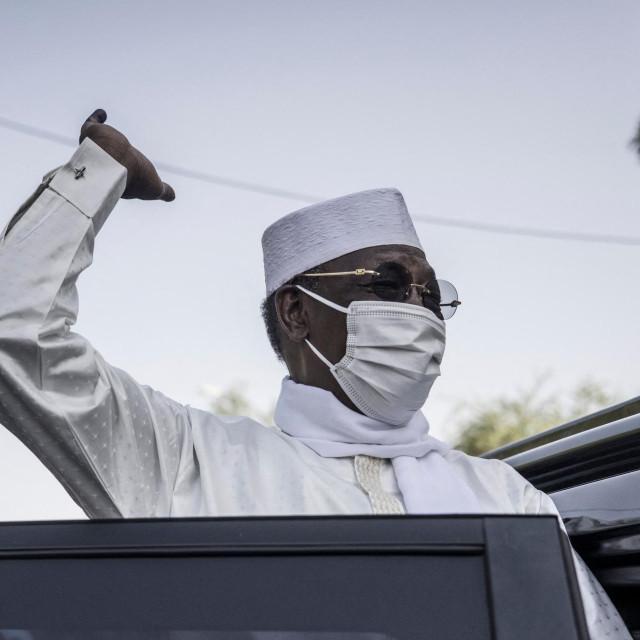 Predsjednik Čada Idriss Deby