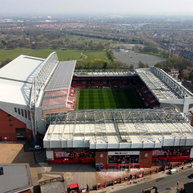 Stadion Liverpool F.C.-a Anfield
