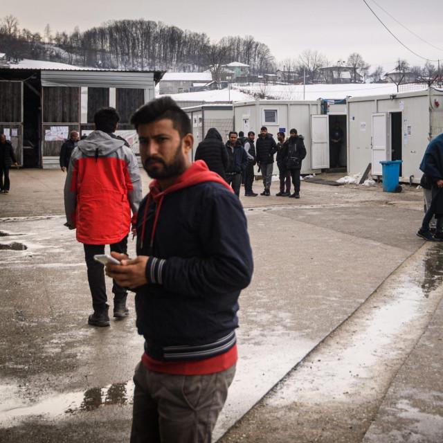 Migrantski kamp u BiH