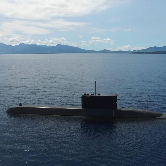 Ilustracija, podmornica indonezijske mornaricem I