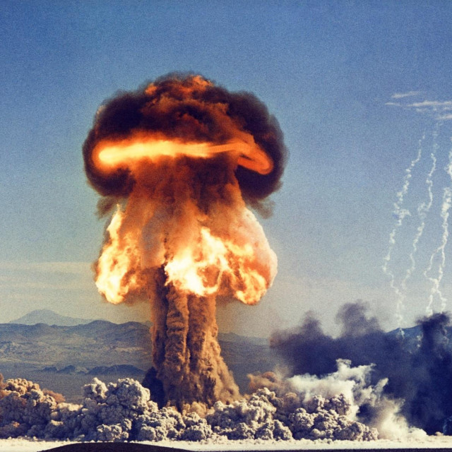 atomska detonacija u Nevadi 1953.