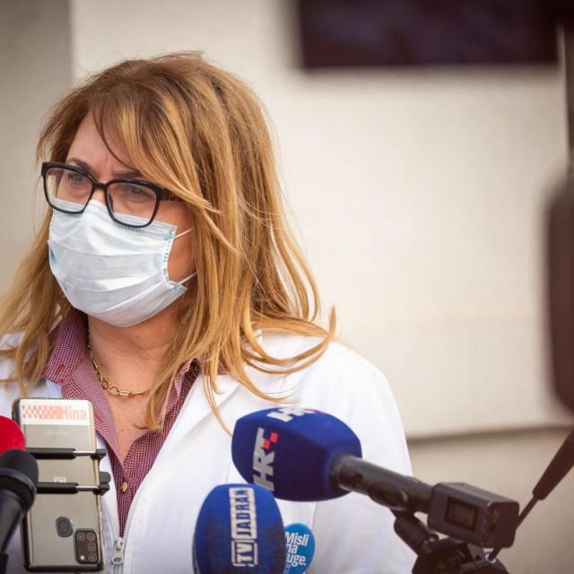 Ravnateljica splitsko-dalmatinskog Nastavnog zavoda za javno zdravstvo dr. Željka Karin<br /> <br /> <br />