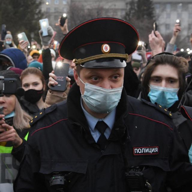 Prosvjed podrške Alekseju Navaljnom