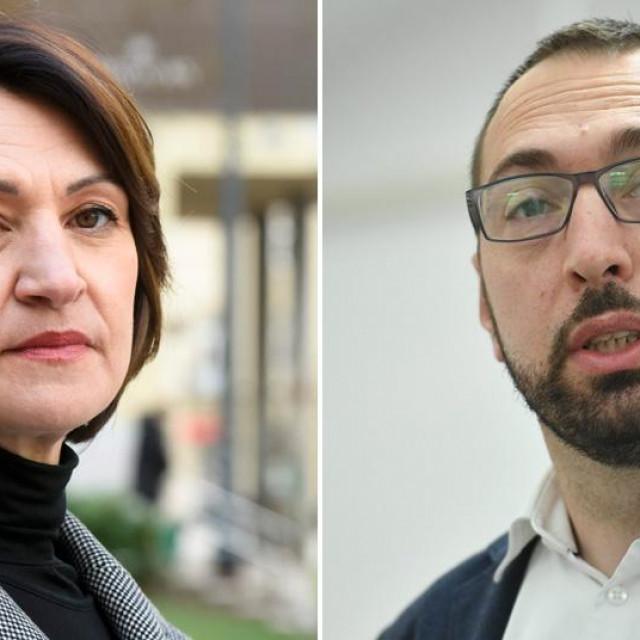 Jelena Pavičić Vukičević i Tomislav Tomašević