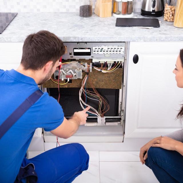 Ilustracija, popravak kućanskih aparata