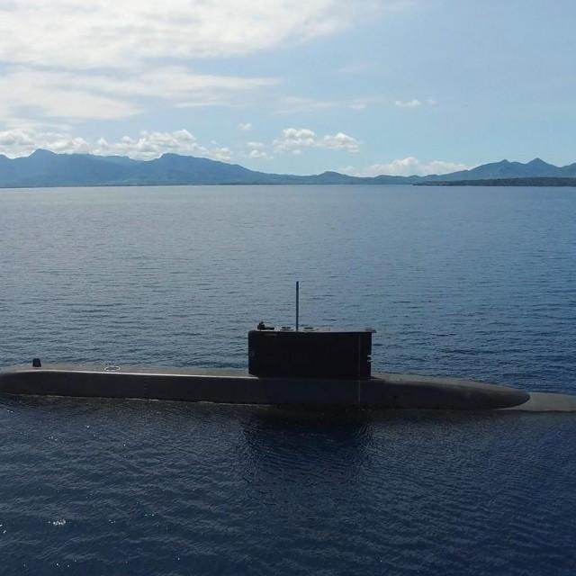 Ilustracija, podmornica indonezijske mornarice