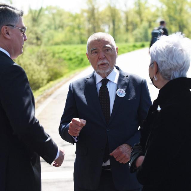 Zoran Milanović, Stjepan Mesić i Jadranka Kosor