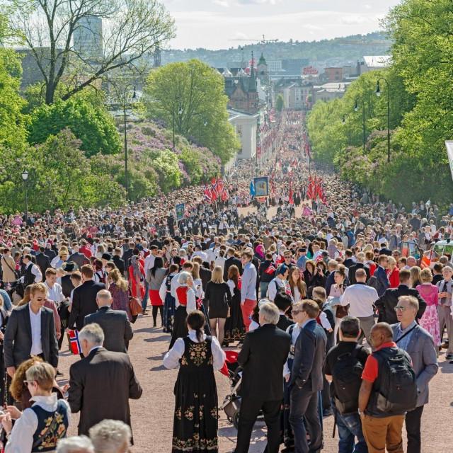 Prizor iz Osla prije pandemije
