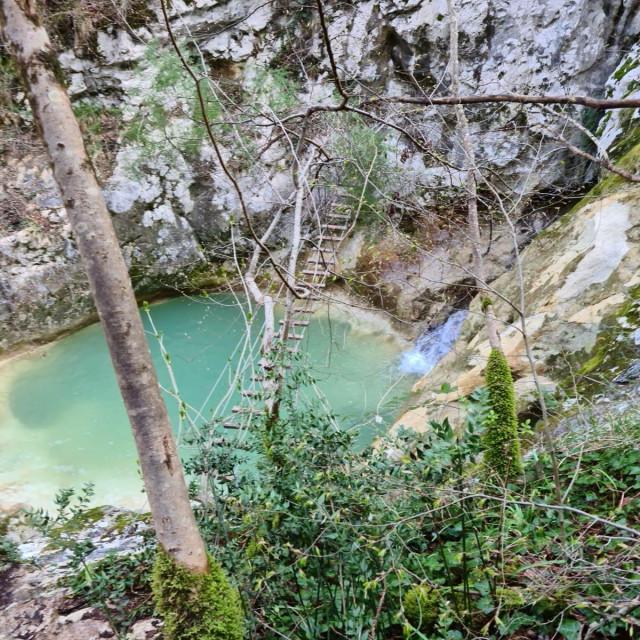 Staza sedam slapova u Istri