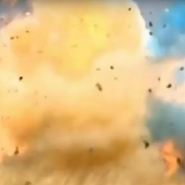 Ilustracija, eksplozija na zabavi otkrivanja spola u Kaliforniji 2017.
